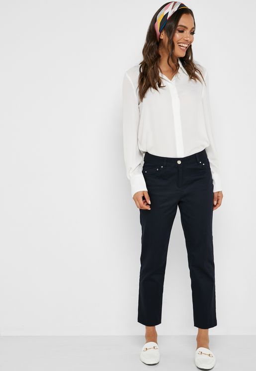 Stud Detail Pants
