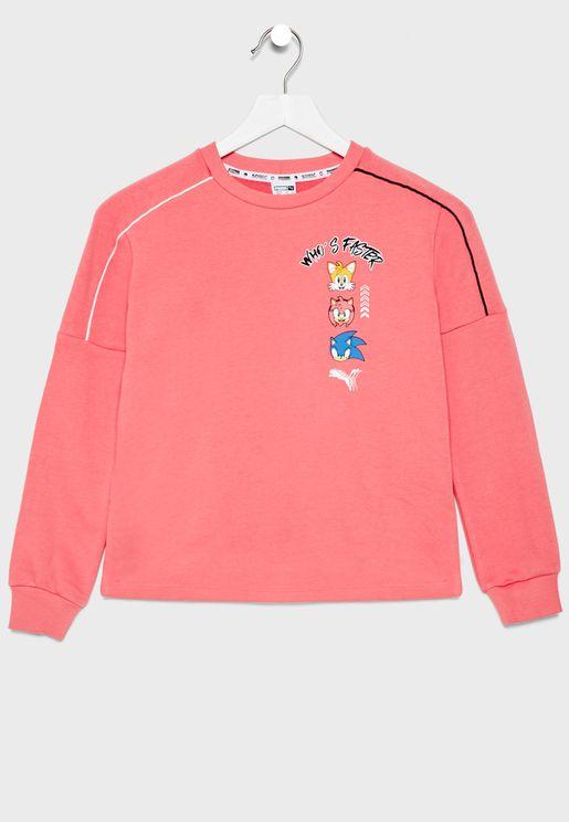Kids Sega Sweatshirt