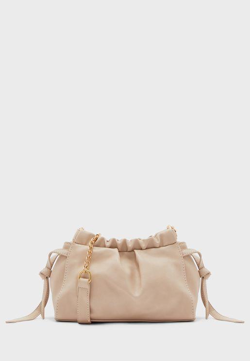 Soft Pouch Chain Strap Bag