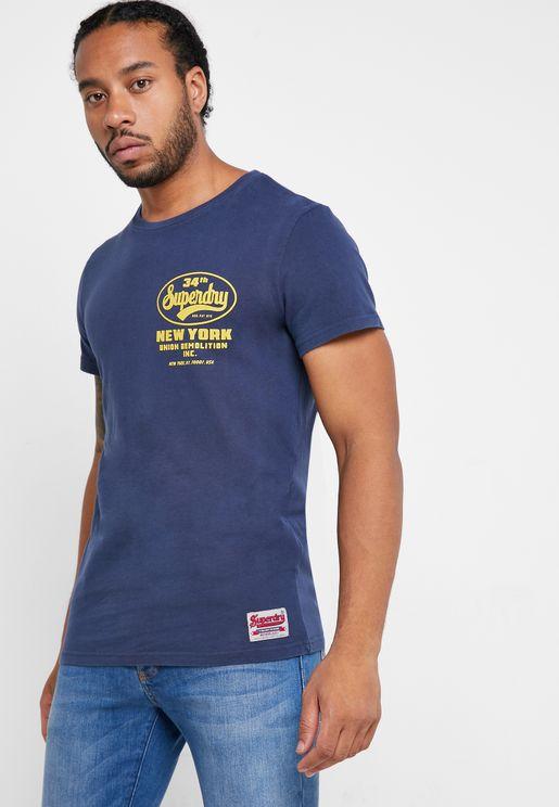 Demolition Crew Neck T-Shirt