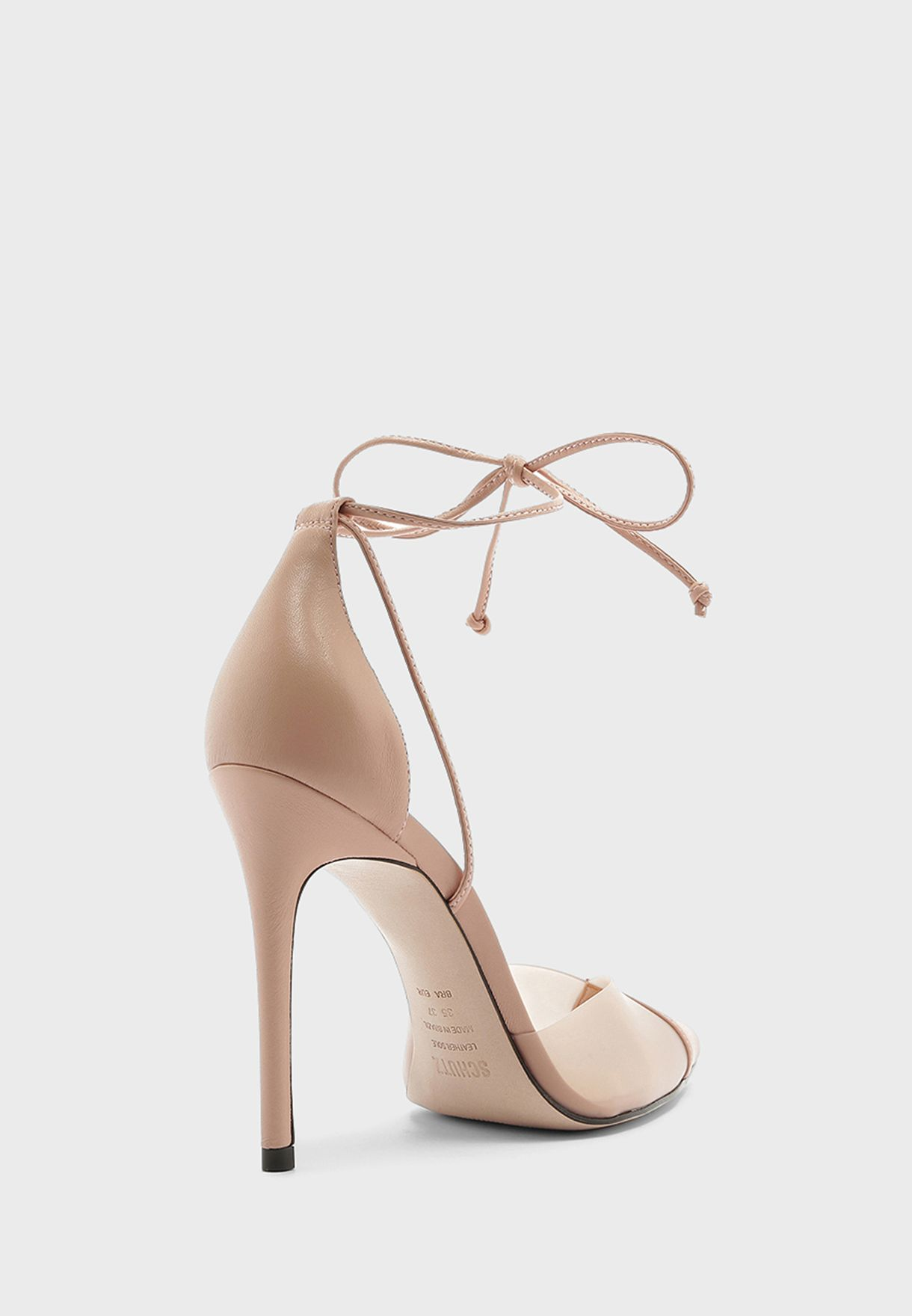 Ankle Strap High Heel Pump