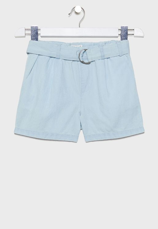 Youth Belted Shorts