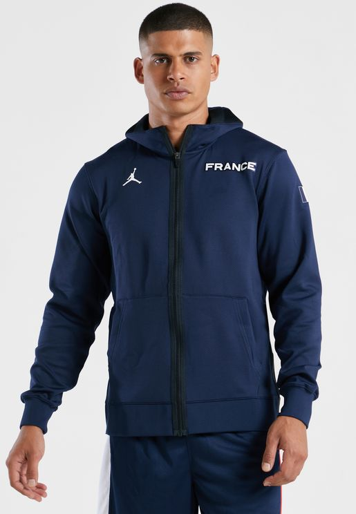 هودي بشعار فريق فرنسا لكرة السلة