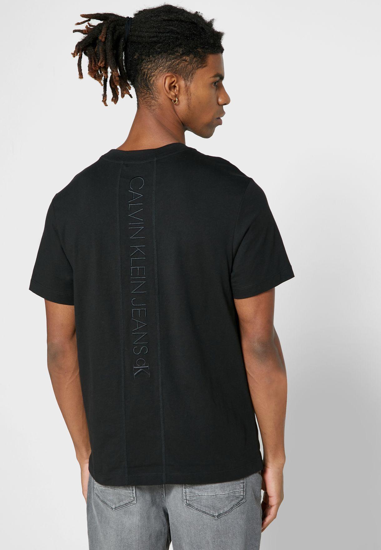 Side Logo Crew Neck T-Shirt