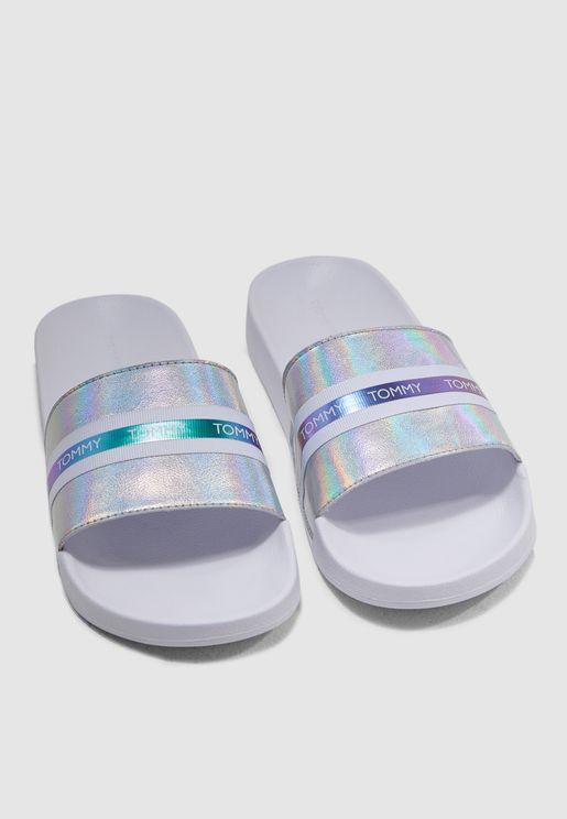 Slide Shiny Sandal