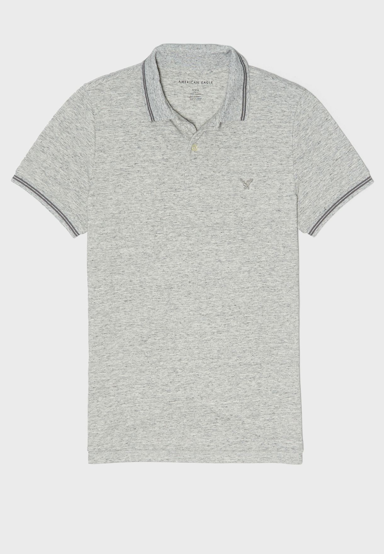 Slim Fit Tipped Polo