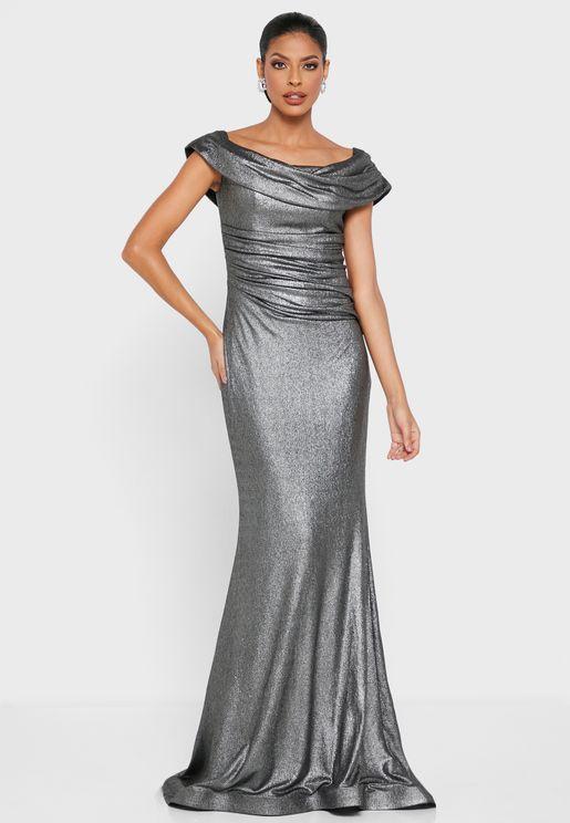 Bardot Mermaid Dress