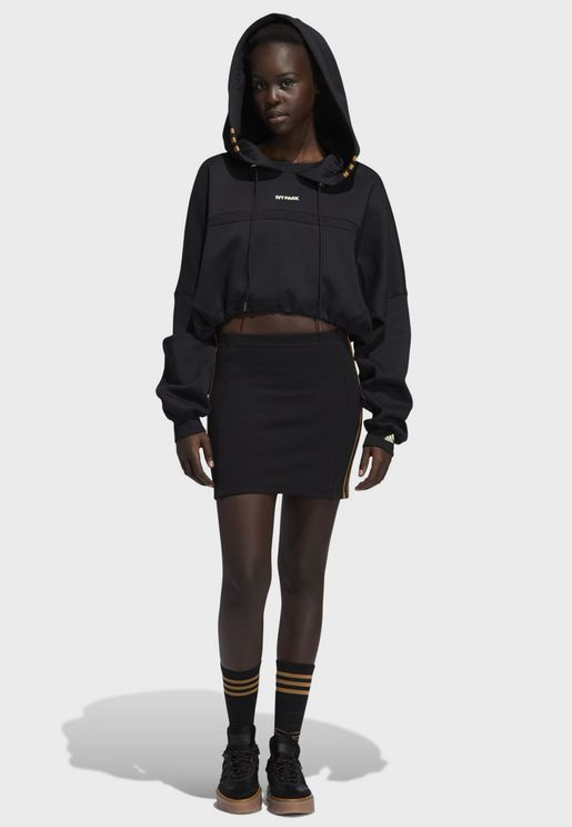 Ivy Park Cut Out Hooded Dress