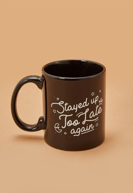 Up Too Late Mug