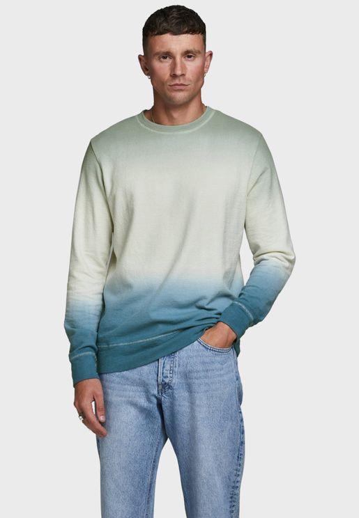 Tie Dye Regular Fit Sweatshirt