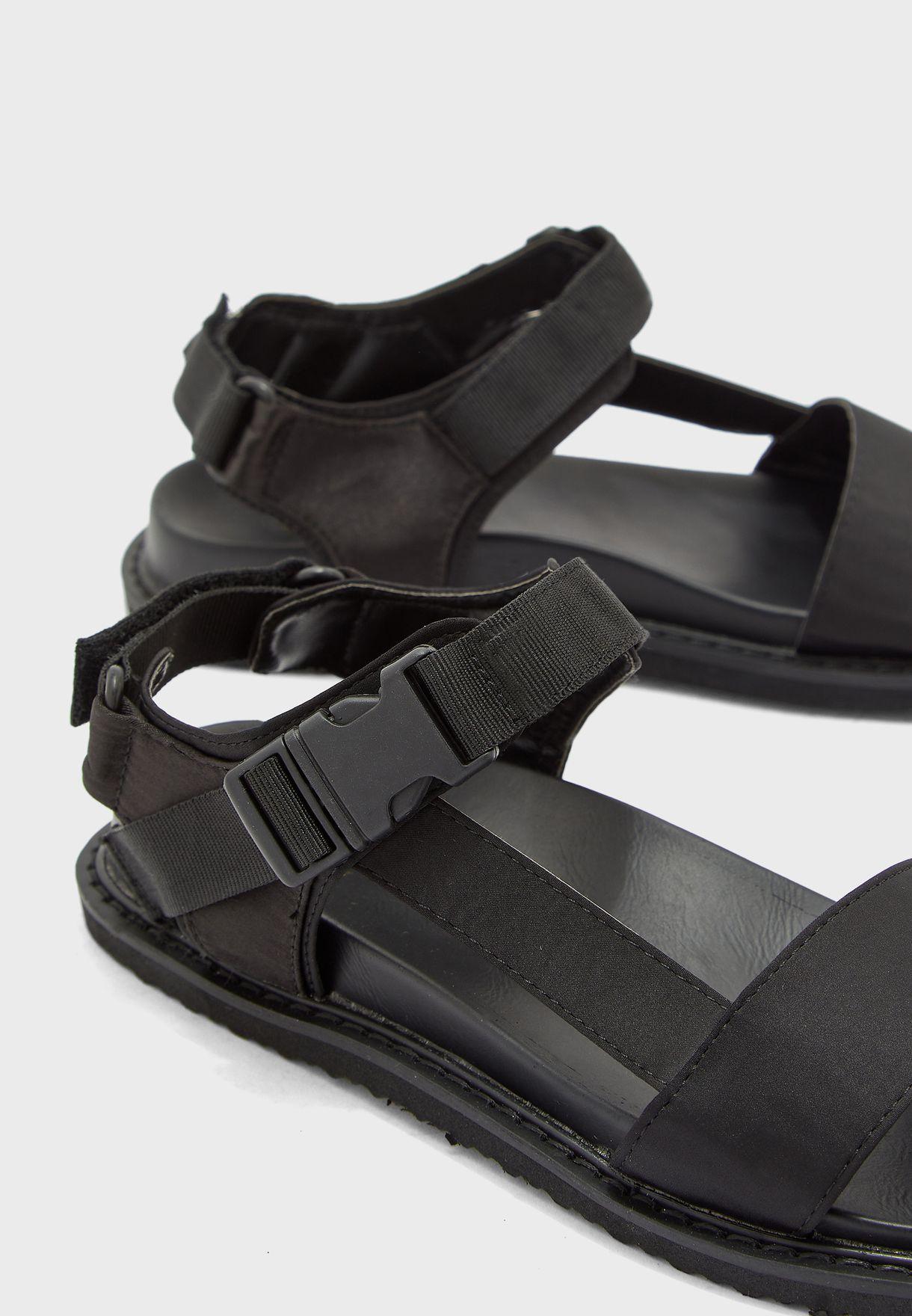 Tbar Sporty Strap Flat Sandal