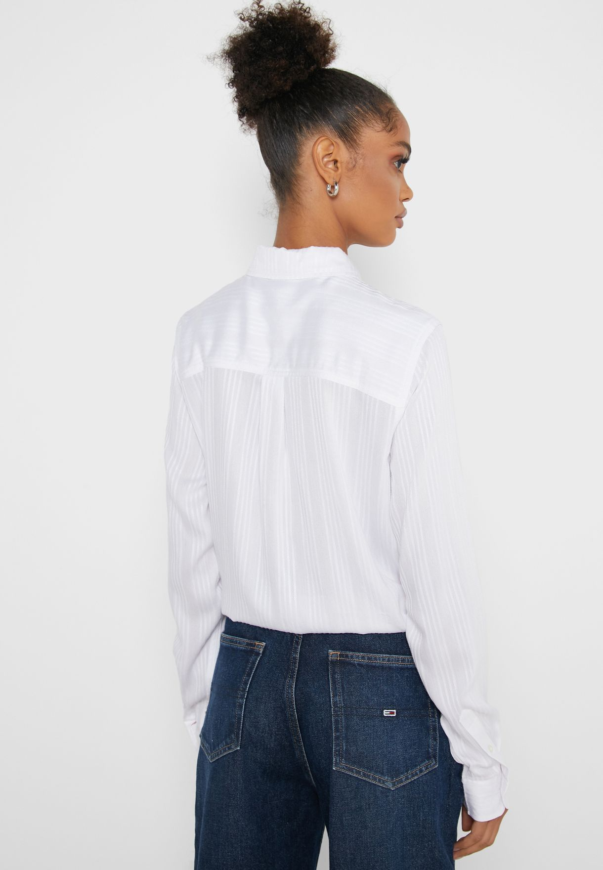 Front Tie Knot Logo Shirt