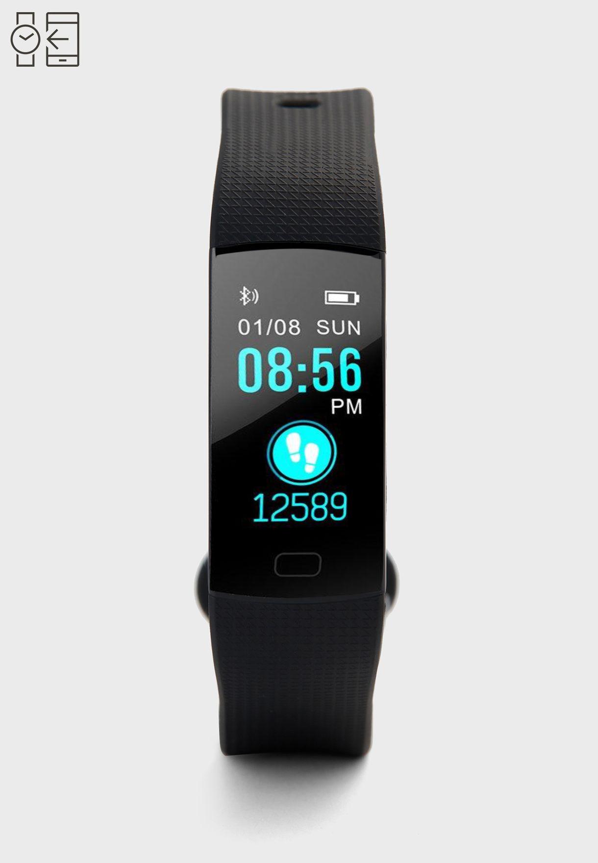 8f32aad6e تسوق ساعة ذكية رقمية ماركة سفنتي فايف لون أسود MTB005 في السعودية ...