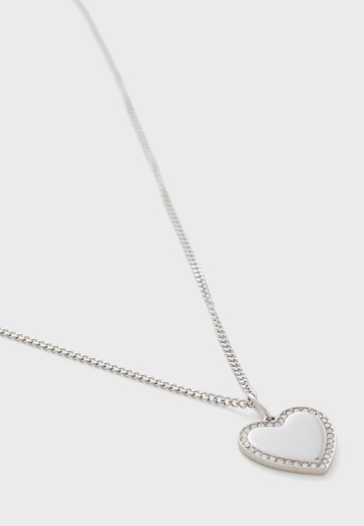 Heart Detail Necklace