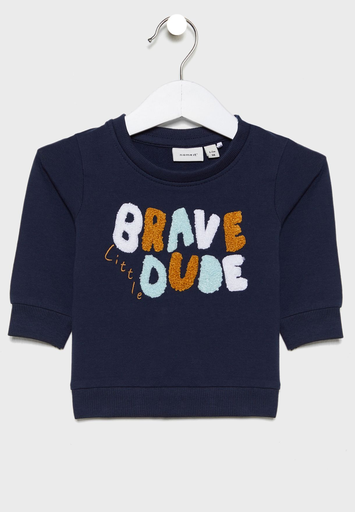 Infant Slogan Sweatshirt