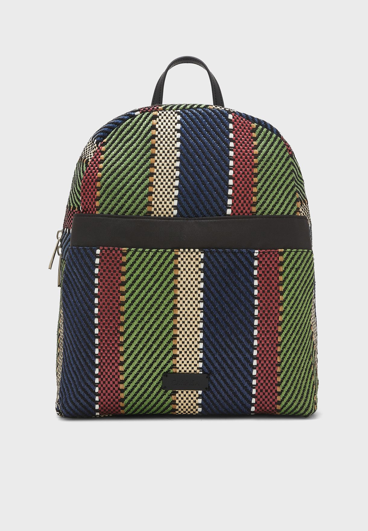 Nadia Striped Backpack
