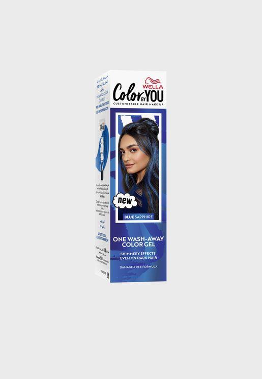 صبغ شعر (غسلة واحدة) ازرق