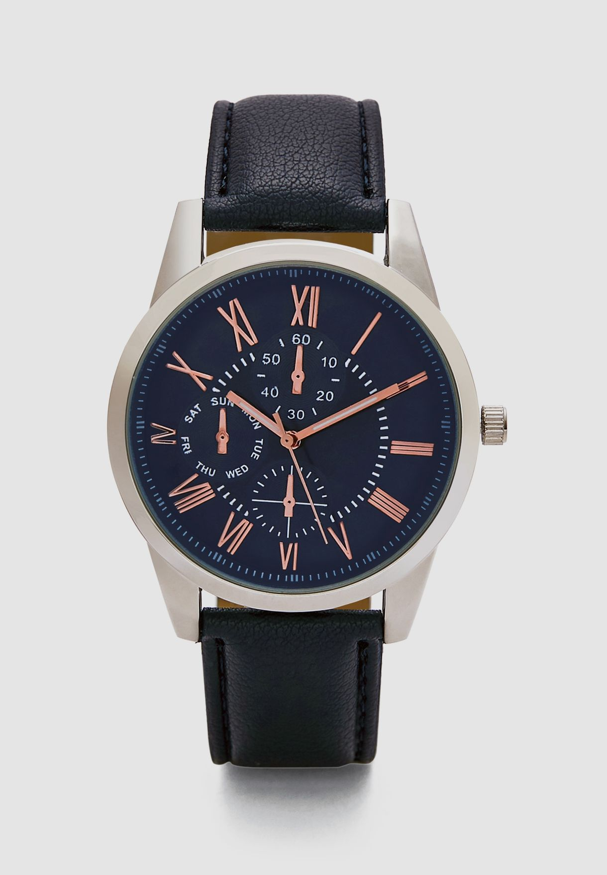 Chronograph Detail Analogue Watch
