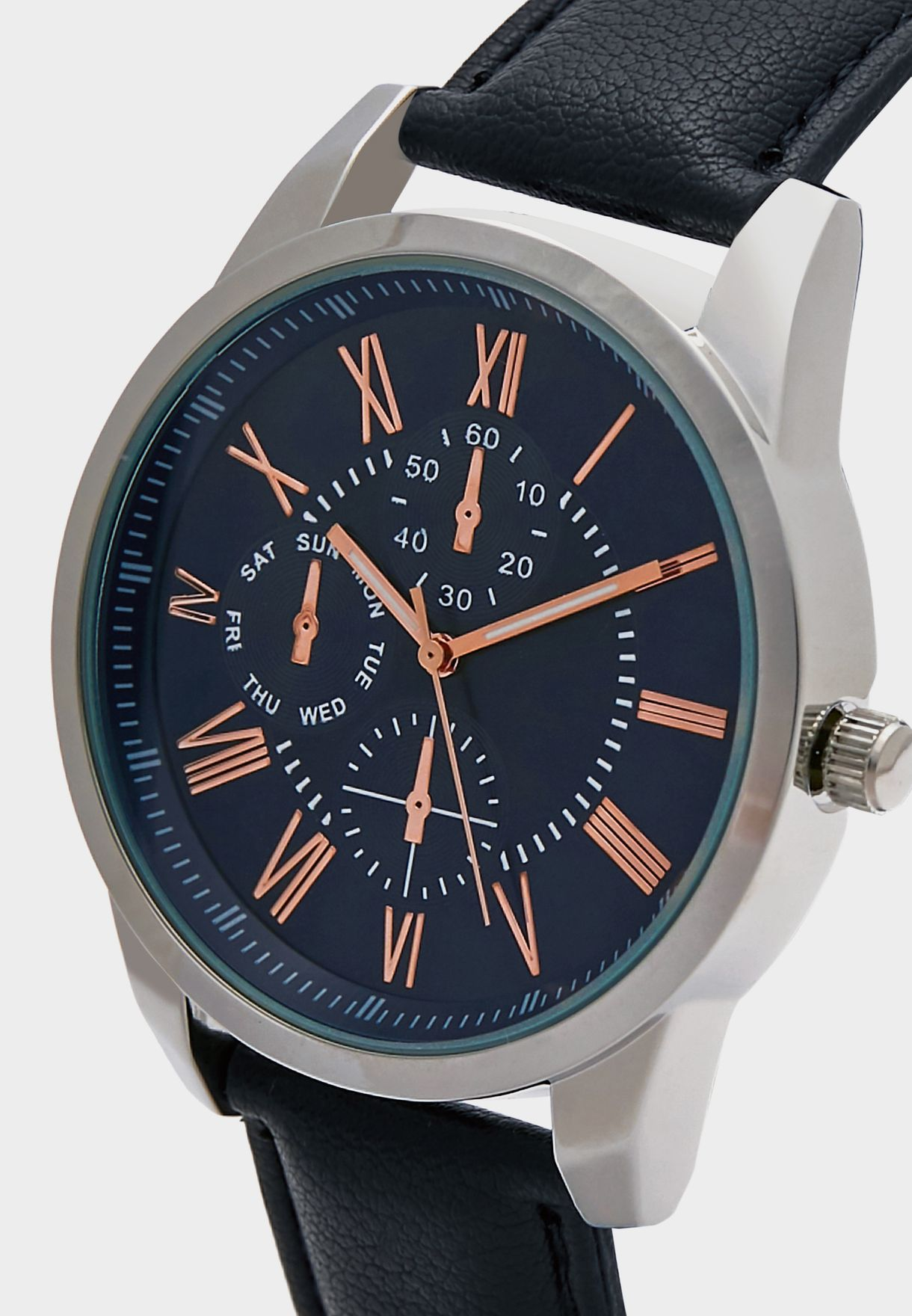 Chronograph Detail Analogue Watch