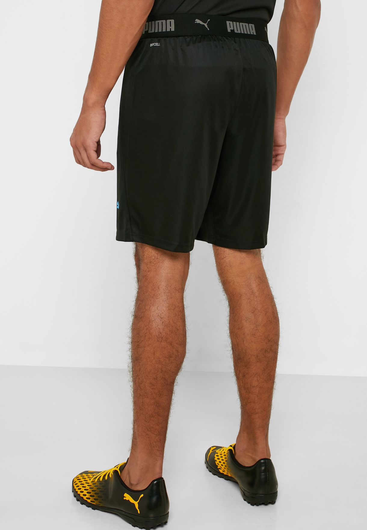 ftblNXT Shorts Puma Black-Luminous Blue