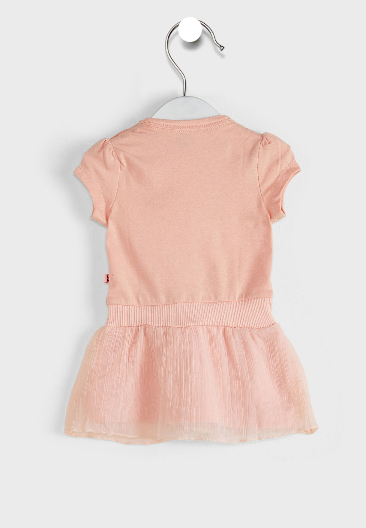 فستان بطبعة كتابة