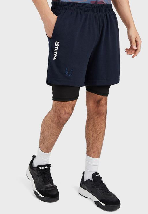 Contrast Inner Tight Active Shorts