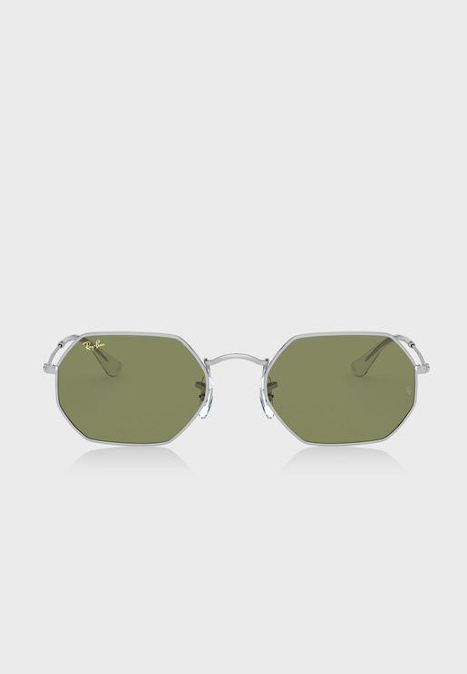 0RB3556 Octagon Sunglasses