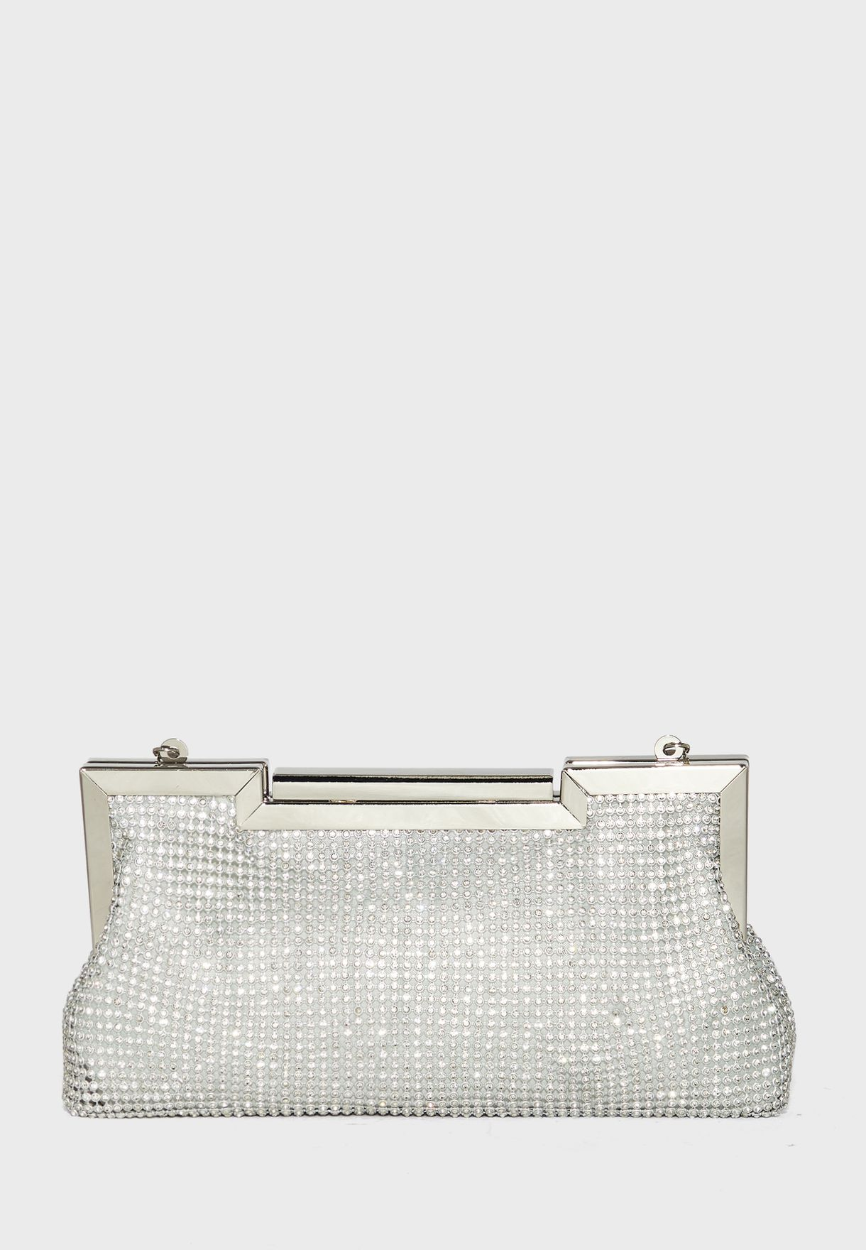 Jewelled Diamante Clutch Bag