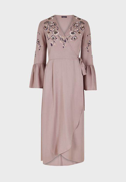 فستان مرصع