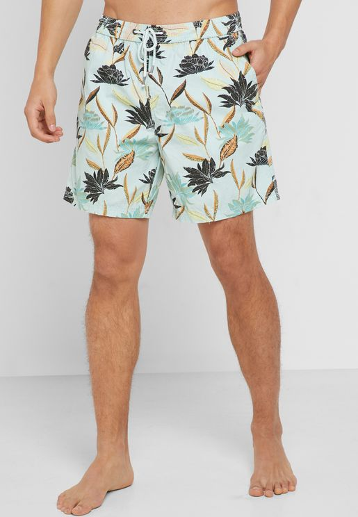 Hoff  Floral Swim Shorts