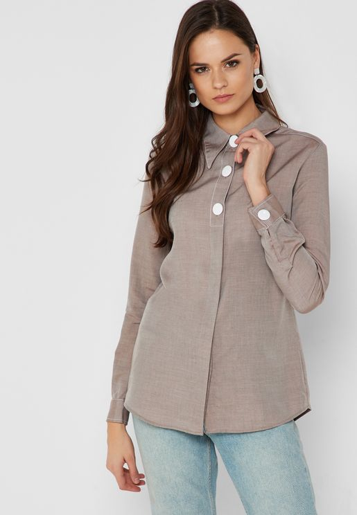 Button Detail  Shirt