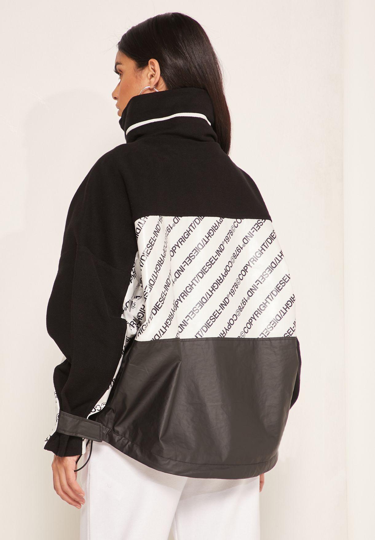 Colorblock Full Zip Jacket