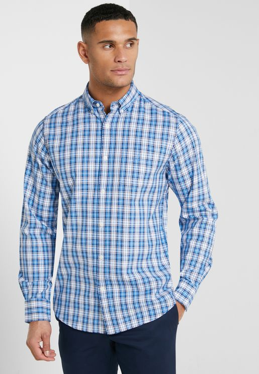Checked Regular Fit Shirt