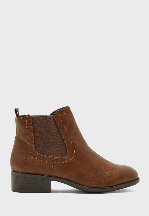 Maple Chelsea Boot