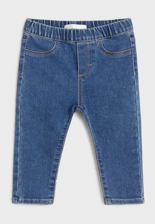 Infant Mid Wash Jeggings
