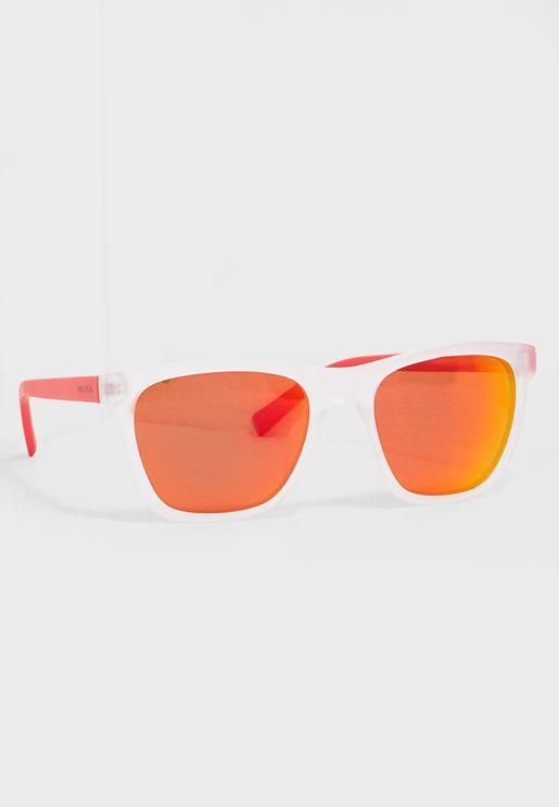 22da7d228a N3629SP Modified Rectangle Sunglasses