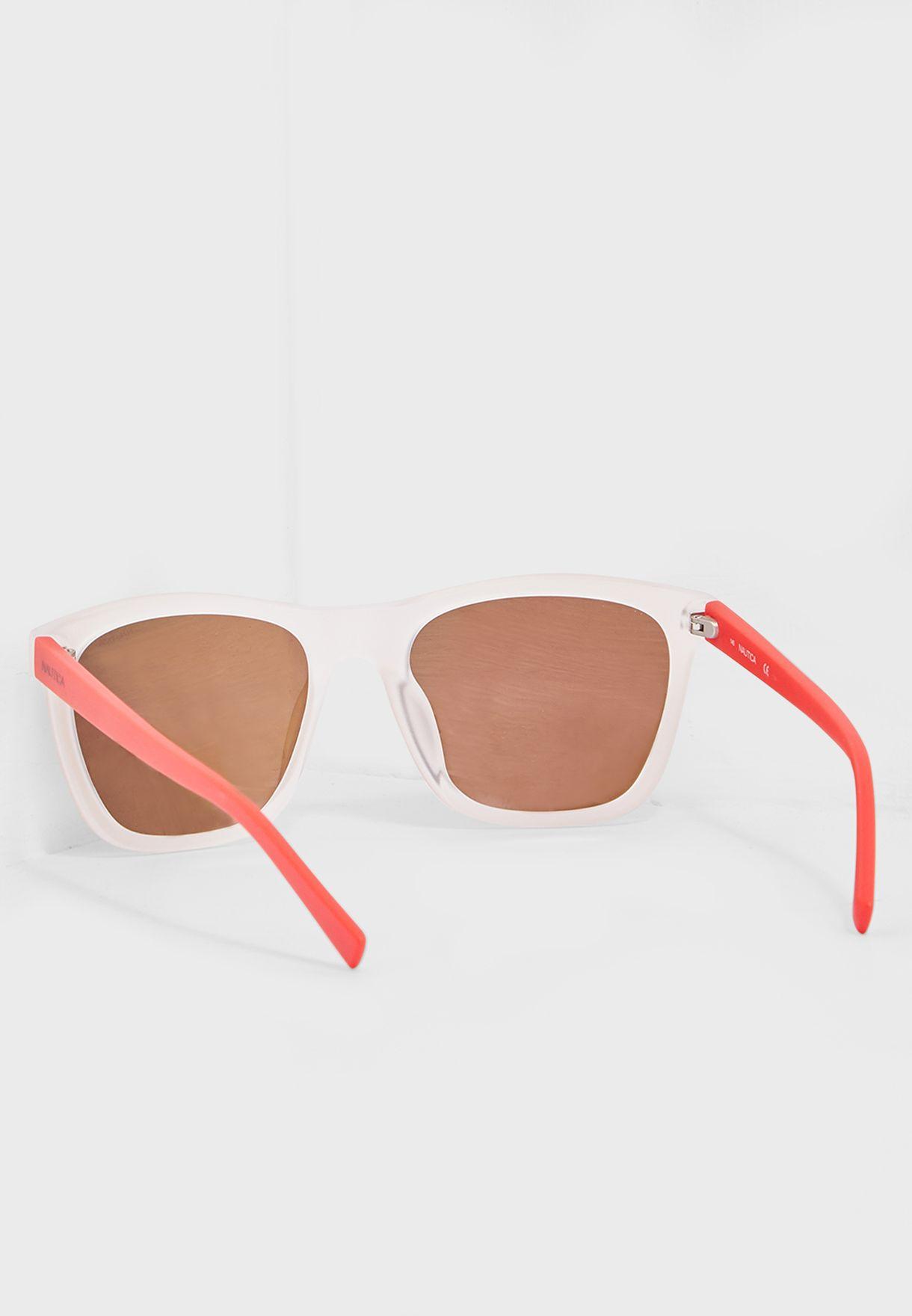 N3629SP Modified Rectangle Sunglasses