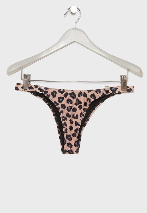 45620b45e42 Leopard Print Bikini Bottom