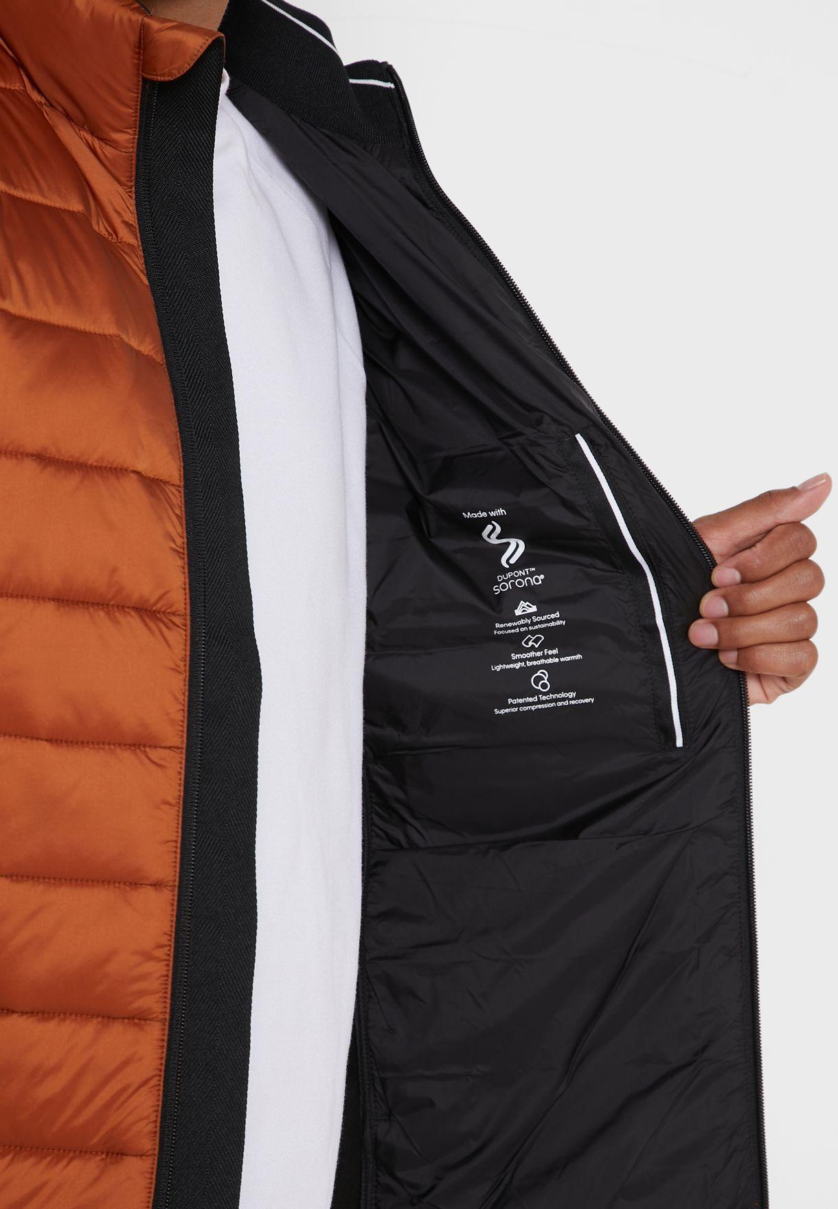 Side Logo Padded Jacket