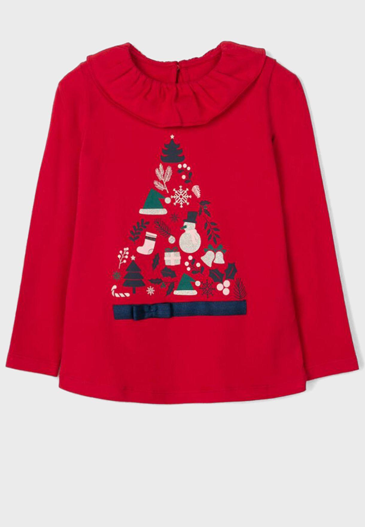 Kids Christmas Top