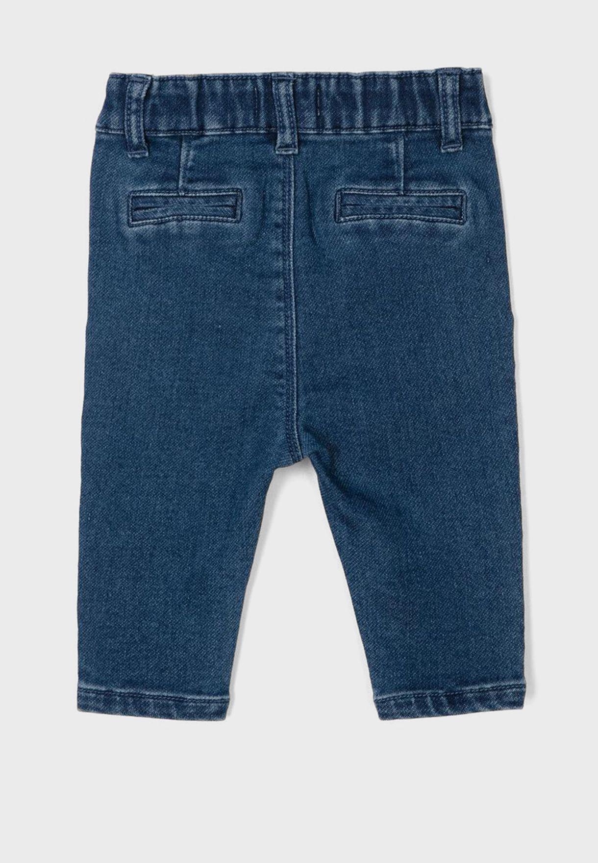 Infant Mid Wash Slim Fit Jeans