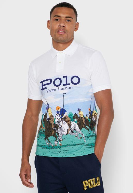 Printed Polo