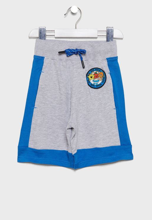 Kids Tie Waist Sweat Shorts