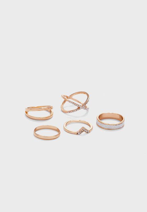 Lajana Ring Set