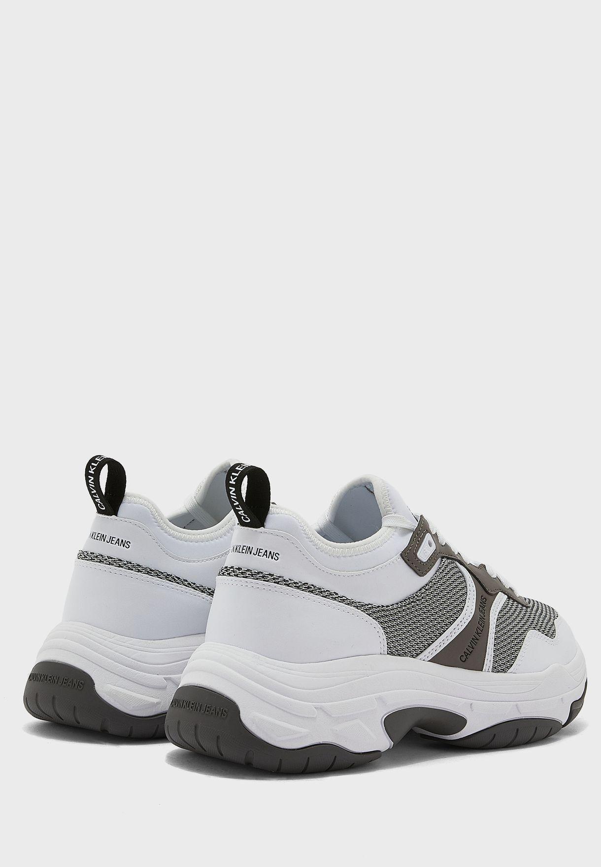 Chunky Sole Sock Laceup Sneaker