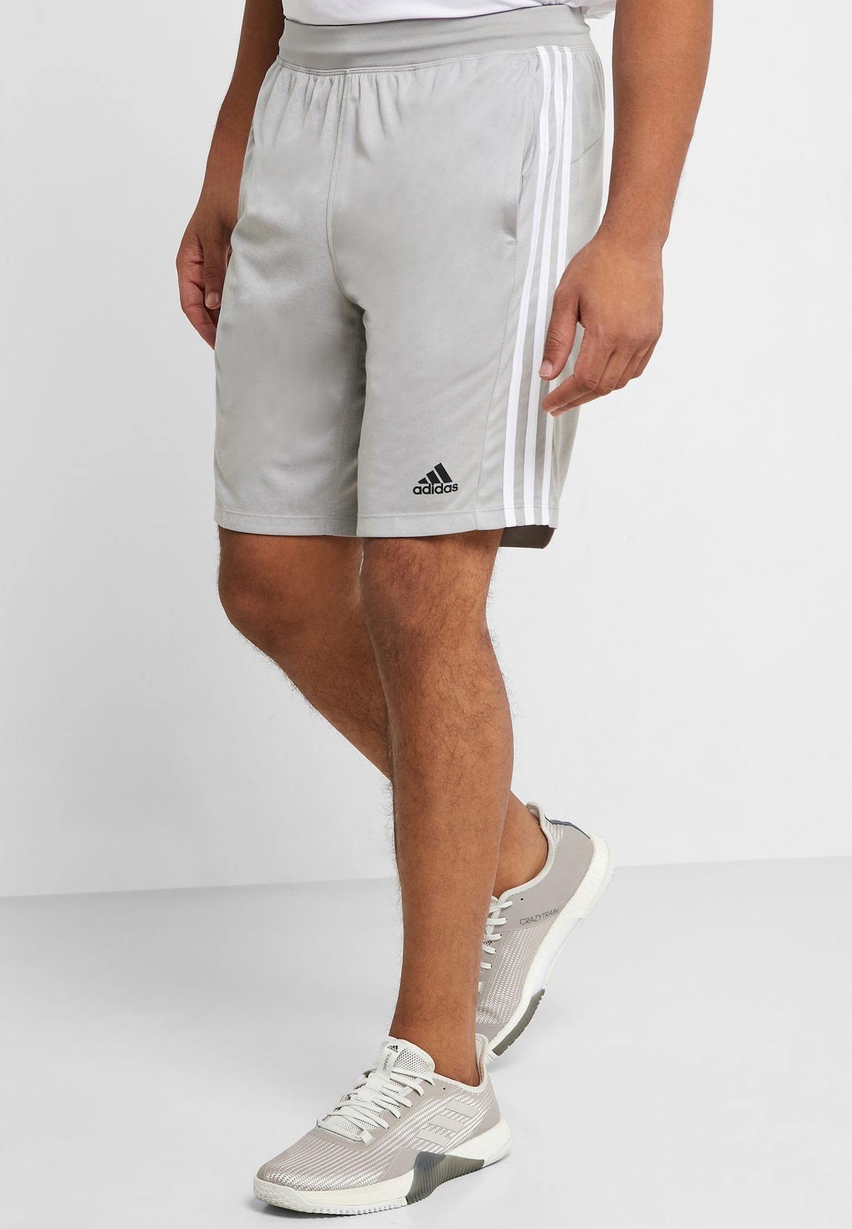 adidas 4krft sport 3-stripes shorts