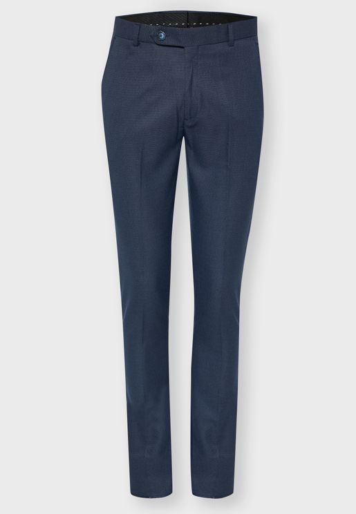 Formal Texture Trouser