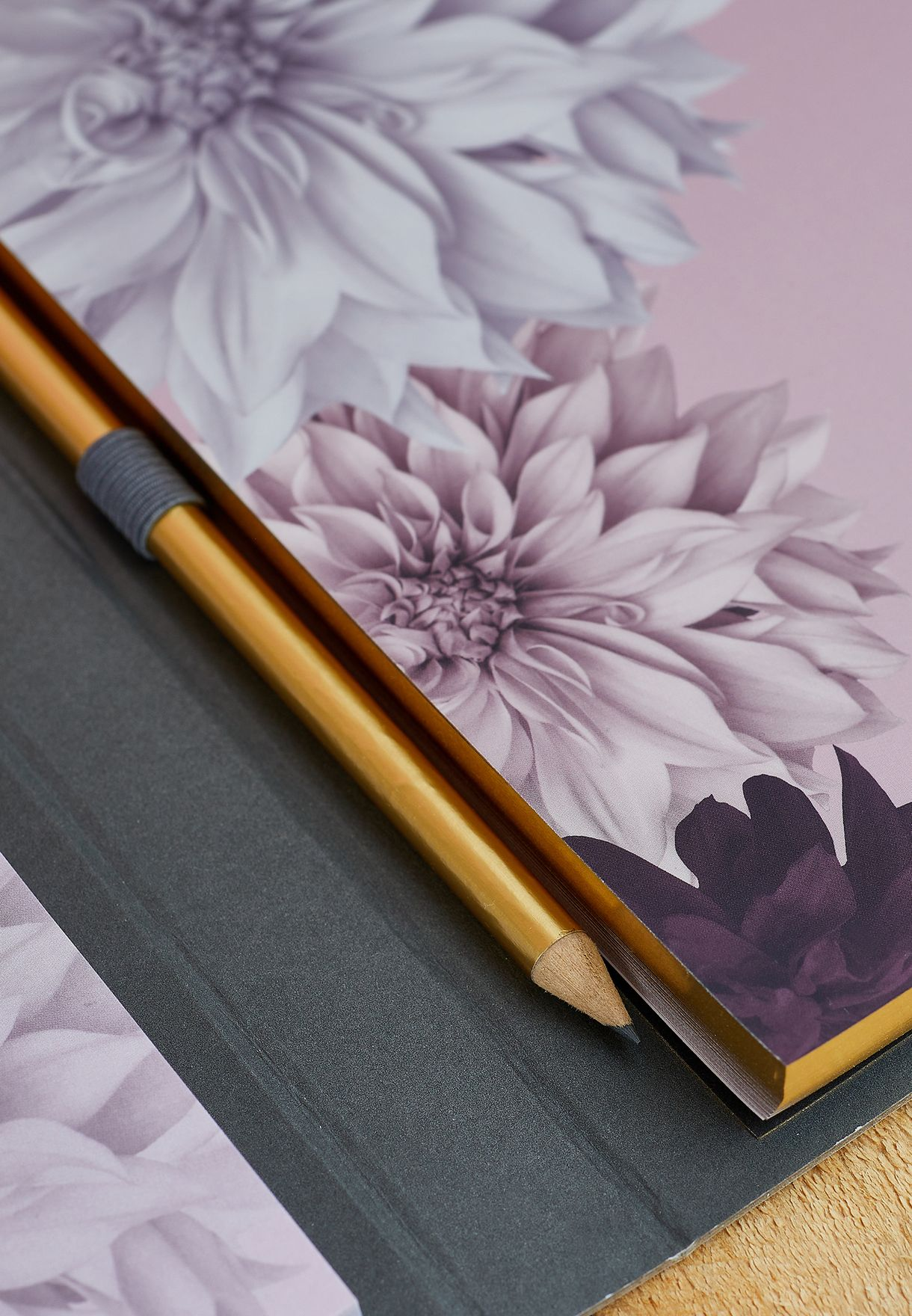 Floral Notebook & Sticky Notes