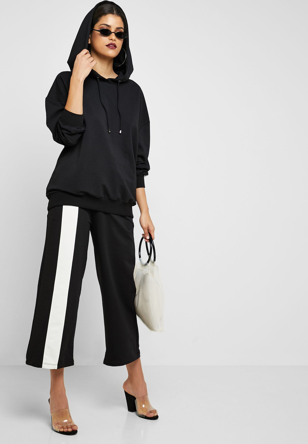 Side Paneled Pants