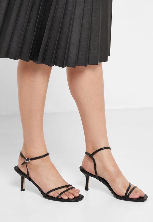 Midi Heel Sandal